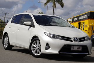 2015 Toyota Corolla ZRE182R Ascent Sport S-CVT Crystal Pearl 7 Speed Constant Variable Hatchback.