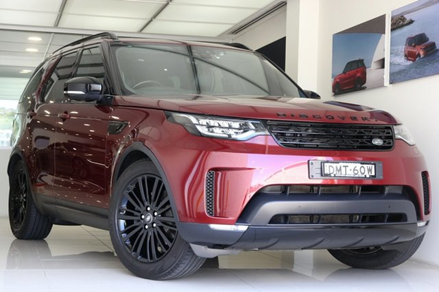 Used Land Rover Discovery Series 5 L462 MY17 HSE Brookvale, 2017 Land Rover Discovery Series 5 L462 MY17 HSE Red 8 Speed Sports Automatic Wagon