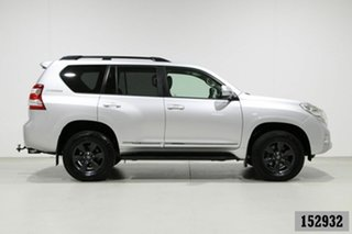 2015 Toyota Landcruiser Prado KDJ150R MY15 Altitude (4x4) Silver 5 Speed Sequential Auto Wagon