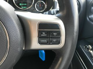 2012 Jeep Compass MK MY12 Limited CVT Auto Stick Blue 6 Speed Constant Variable Wagon