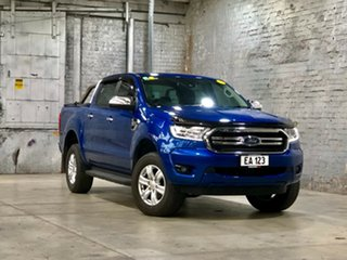 2018 Ford Ranger PX MkIII 2019.00MY XLT Blue 6 Speed Manual Utility.
