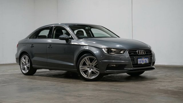 Used Audi A3 8V MY16 Ambition S Tronic Quattro Welshpool, 2015 Audi A3 8V MY16 Ambition S Tronic Quattro Grey 6 Speed Sports Automatic Dual Clutch Sedan