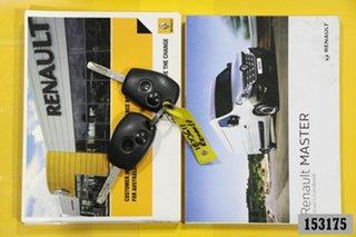 2016 Renault Master X62 MY15 (nbi) SWB Low White 6 Speed Automated Manual Van