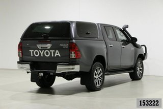 2018 Toyota Hilux GUN126R MY19 SR5 (4x4) Graphite 6 Speed Automatic Double Cab Pick Up
