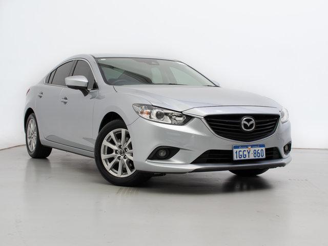Used Mazda 6 6C MY17 (gl) Sport, 2016 Mazda 6 6C MY17 (gl) Sport Silver, Chrome 6 Speed Automatic Sedan