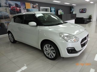 2021 Suzuki Swift AZ Series II GL Navi Pure White Continuous Variable Hatchback