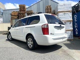 2007 Kia Grand Carnival VQ EX White 5 Speed Sports Automatic Wagon