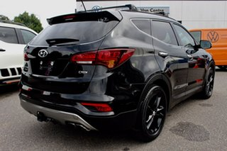 2016 Hyundai Santa Fe DM3 MY16 Highlander Black 6 Speed Sports Automatic Wagon.
