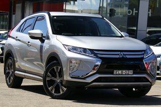 2019 Mitsubishi Eclipse Cross YA MY19 ES 2WD Silver 8 Speed Constant Variable Wagon.