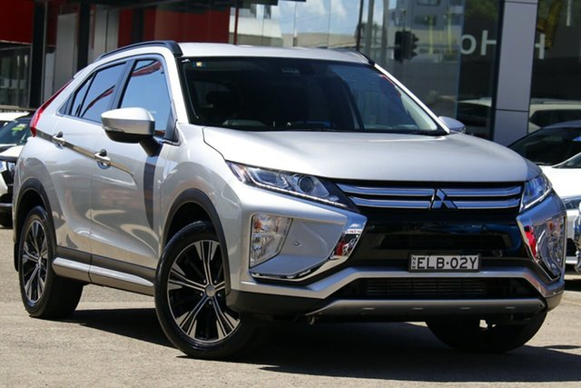 Used Mitsubishi Eclipse Cross YA MY19 ES 2WD Homebush, 2019 Mitsubishi Eclipse Cross YA MY19 ES 2WD Silver 8 Speed Constant Variable Wagon