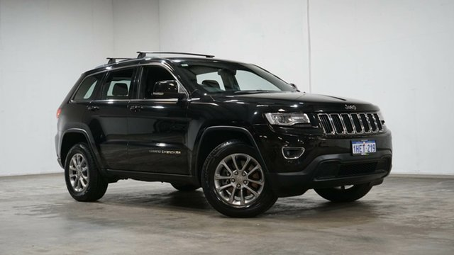 Used Jeep Grand Cherokee WK MY15 Laredo Welshpool, 2016 Jeep Grand Cherokee WK MY15 Laredo Black 8 Speed Sports Automatic Wagon