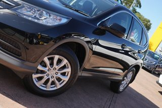 2012 Honda CR-V 30 VTi (4x2) Black 6 Speed Manual Wagon.