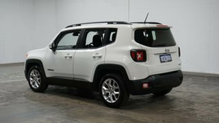 2015 Jeep Renegade BU MY16 Longitude DDCT White 6 Speed Sports Automatic Dual Clutch Hatchback.