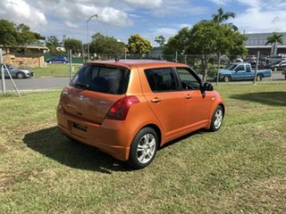 2005 Suzuki Swift RS415 GLX Orange 5 Speed Manual Hatchback