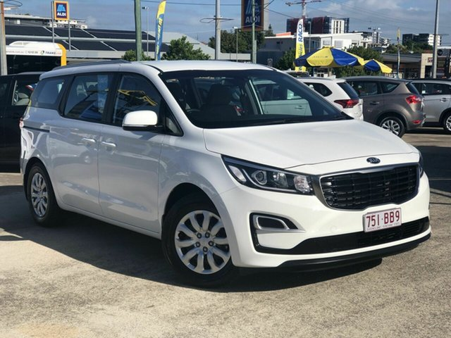 Used Kia Carnival YP MY19 S Chermside, 2019 Kia Carnival YP MY19 S White 8 Speed Sports Automatic Wagon