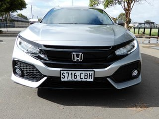 2019 Honda Civic 10th Gen MY19 VTi-LX Silver 1 Speed Constant Variable Hatchback.