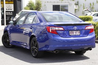 2014 Toyota Camry ASV50R RZ Reflex Blue 6 Speed Sports Automatic Sedan.