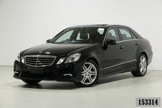 2010 Mercedes-Benz E350 212 Avantgarde Black 7 Speed Automatic G-Tronic Sedan.