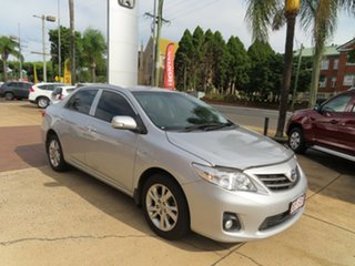 2012 Toyota Corolla Ascent Sport Silver Automatic Sedan.