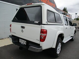 2011 Holden Colorado RC MY11 LT-R Crew Cab White 5 Speed Manual Utility