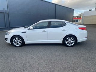 2011 Kia Optima TF MY12 SI White 6 Speed Sports Automatic Sedan