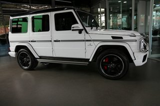 2018 Mercedes-Benz G-Class W463 MY808 G63 AMG SPEEDSHIFT PLUS 4MATIC White 7 Speed Sports Automatic
