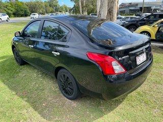 2012 Nissan Almera N17 ST Black 5 Speed Manual Sedan