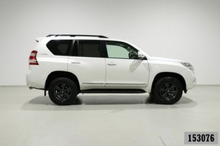 2015 Toyota Landcruiser Prado KDJ150R MY14 Altitude (4x4) White 5 Speed Sequential Auto Wagon