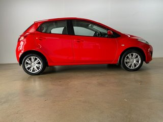 2011 Mazda 2 DE MY12 Neo Red 4 Speed Automatic Hatchback.