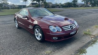 2006 Mercedes-Benz SL-Class R230 MY06 SL350 Red 7 Speed Automatic Roadster.