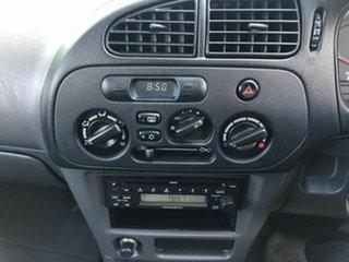 2003 Mitsubishi Mirage CE MY2002 Blue 5 Speed Manual Hatchback