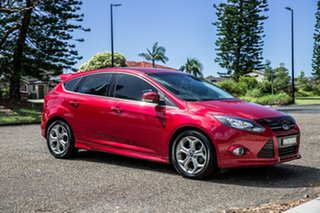 2014 Ford Focus LW MkII Sport Red Candy 5 Speed Manual Hatchback.