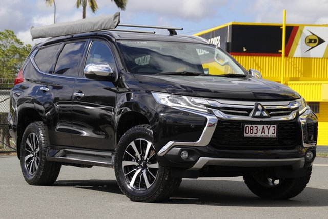 Used Mitsubishi Pajero Sport QE MY17 Exceed Rocklea, 2017 Mitsubishi Pajero Sport QE MY17 Exceed Black Mica 8 Speed Sports Automatic Wagon