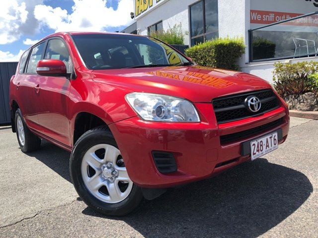 Used Toyota RAV4 ACA38R MY12 CV 4x2 Slacks Creek, 2012 Toyota RAV4 ACA38R MY12 CV 4x2 Red 4 Speed Automatic Wagon