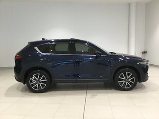 2017 Mazda CX-5 KF4WLA Akera SKYACTIV-Drive i-ACTIV AWD Deep Crystal Blue 6 Speed Sports Automatic.
