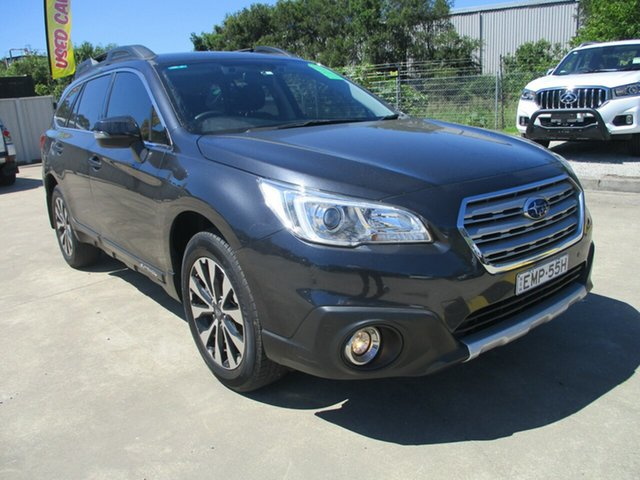 Used Subaru Outback B6A MY16 2.5i CVT AWD Glendale, 2016 Subaru Outback B6A MY16 2.5i CVT AWD Grey 6 Speed Constant Variable Wagon