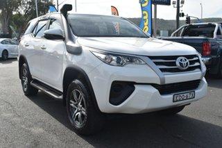 2019 Toyota Fortuner GUN156R GX White 6 Speed Automatic Wagon.