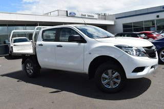 2016 Mazda BT-50 UR0YG1 XT 4x2 Hi-Rider White 6 Speed Manual Utility.