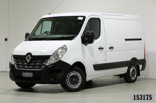 2016 Renault Master X62 MY15 (nbi) SWB Low White 6 Speed Automated Manual Van.