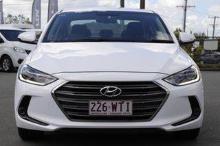 2016 Hyundai Elantra AD MY17 Elite Polar White 6 Speed Sports Automatic Sedan