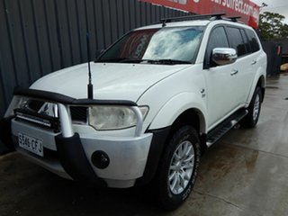 2011 Mitsubishi Challenger PB (KH) MY12 30th Anniversary White 5 Speed Manual Wagon.