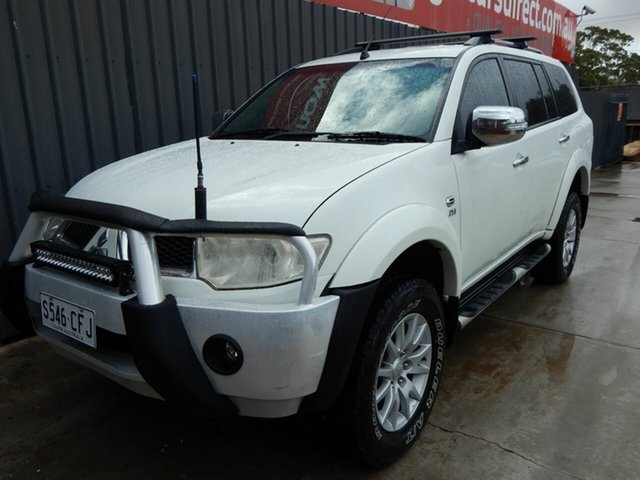 Used Mitsubishi Challenger PB (KH) MY12 30th Anniversary Blair Athol, 2011 Mitsubishi Challenger PB (KH) MY12 30th Anniversary White 5 Speed Manual Wagon