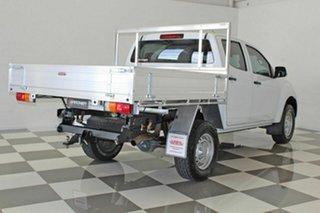 2014 Isuzu D-MAX TF MY15 SX HI-Ride (4x2) White 5 Speed Automatic Cab Chassis