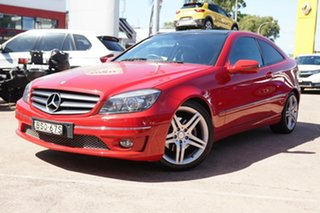 2010 Mercedes-Benz CLC-Class CL203 CLC200 Kompressor Red 5 Speed Automatic Coupe.