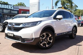 2017 Honda CR-V MY18 VTi-LX (AWD) White Continuous Variable Wagon.