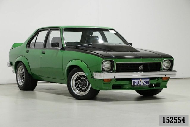 Used Holden Torana LX SL/R 5000 Bentley, 1977 Holden Torana LX Tribute SL/R 5000 Green 3 Speed Automatic Sedan