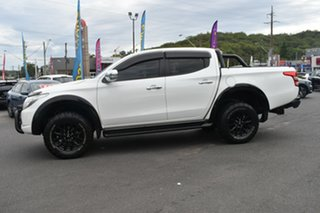 2017 Mitsubishi Triton MQ MY17 GLS Double Cab Sports Edition White 5 Speed Sports Automatic Utility