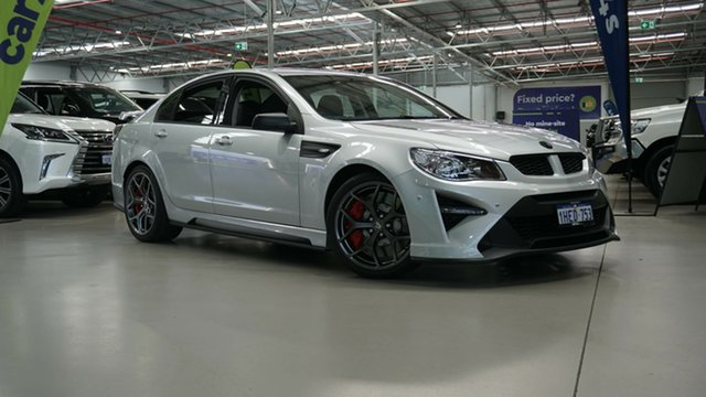 Used Holden Special Vehicles GTS Gen-F2 MY17 R Welshpool, 2017 Holden Special Vehicles GTS Gen-F2 MY17 R Silver 6 Speed Sports Automatic Sedan