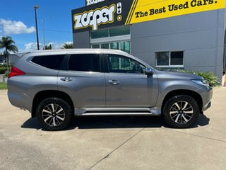 2018 Mitsubishi Pajero Sport QE MY18 Exceed Grey/290318 8 Speed Sports Automatic Wagon.