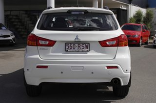 2010 Mitsubishi ASX XA MY11 2WD White Solid 5 Speed Manual Wagon